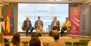 """SdP participa en """"La innovación en el sector público: retos de la compra pública"""" en la Sede de Caja Rural del Sur, Sevilla."""